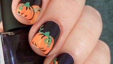 Pumpkin manicure