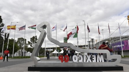 F1 Gp Messico: le immagini delle prove libere