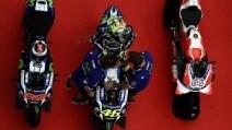 MotoGp Sepang, Dovizioso in pole, Rossi e Lorenzo in prima fila