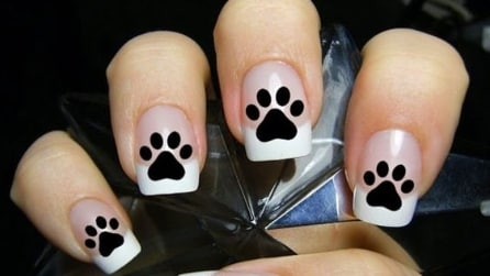 Paws manicure