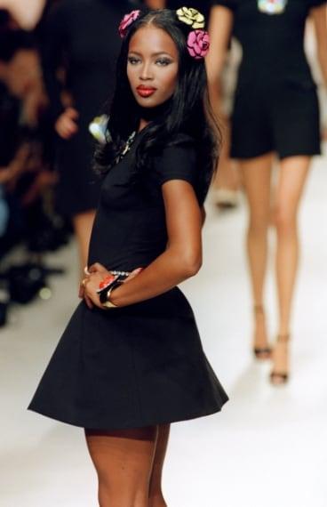 Naomi Campbell per la collezione Spring/Summer 1995