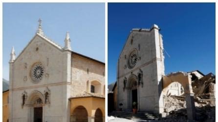 La Basilica di San Benedetto prima e dopo il sisma