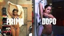 Alessia Macari prima e dopo il GfVip, la ciociara è in forma perfetta