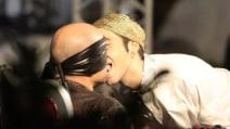 Finale Gf Vip 2016: il bacio di Bosco Cobos a Stefano Bettarini