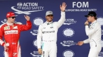 Formula 1, in Brasile Hamilton si prende la pole, Ferrari in seconda fila con Raikkonen