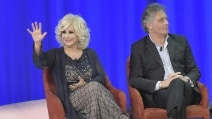 Tina Cipollari e Giorgio Manetti al Maurizio Costanzo Show