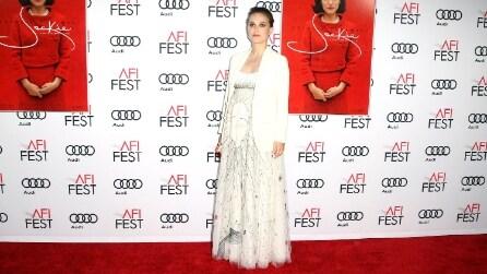 Il look di Natalie Portman con il pancione alla prima del film