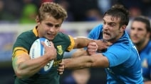 Foto della vittoria storica di rugby: Italia 20-18 Sudafrica