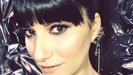 Il nuovo taglio di capelli di Laura Pausini