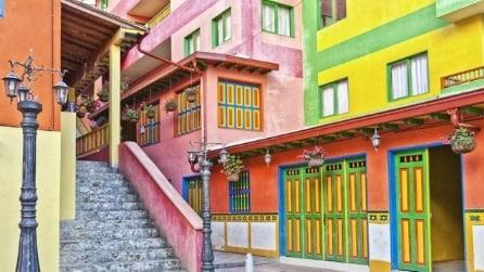 Nella città più colorata del mondo