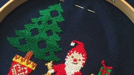 Decorazioni di Natale con punto croce: idee da realizzare