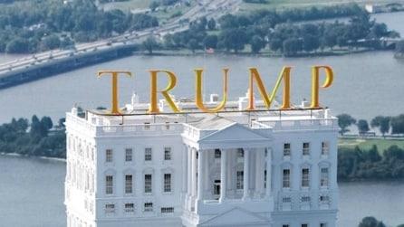 La Casa Bianca di Donald Trump nel 2020