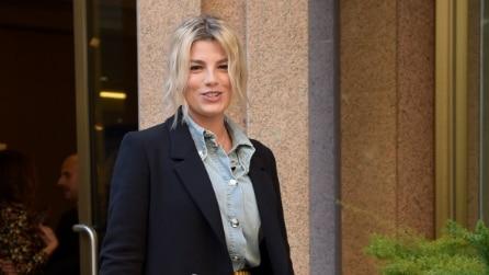 """Emma Marrone: il look per il photocall del film """"La Cena di Natale"""""""
