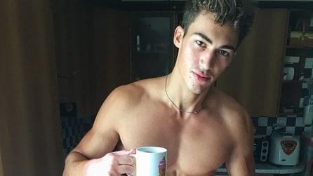 Alessio, il giovane modello italiano richiesto in tutto il mondo