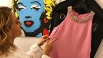 Il look rosa di Barbara D'Urso