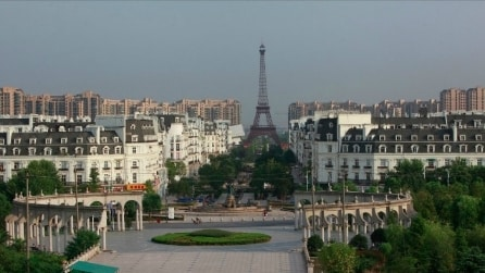 Le 11 città copia della Cina