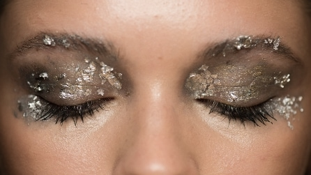 Make up metallico: il trend per le feste natalizie