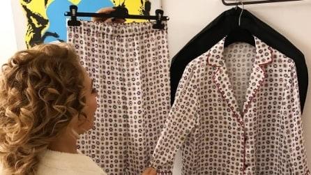 """Barbara D'Urso indossa ancora il pigiama a """"Domenica Live"""""""