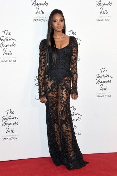 Naomi Campbell in Alexander McQueen