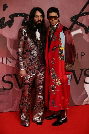 Alessandro Michele e Jared Leto in Gucci