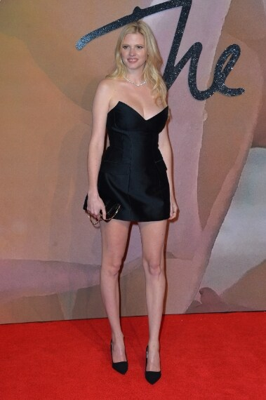 Lara Stone in Stella McCartney