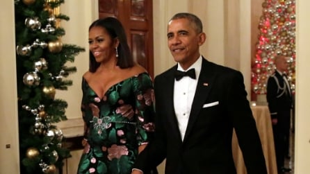 L'abito Gucci indossato da Michelle Obama