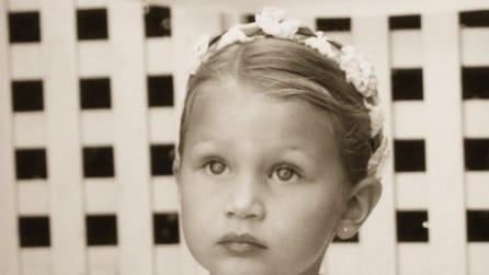 Le foto delle modelle più famose al mondo quando erano bambine
