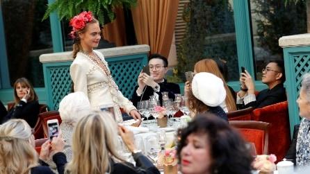 La 13esima edizione della sfilata Chanel Métiers d'Art