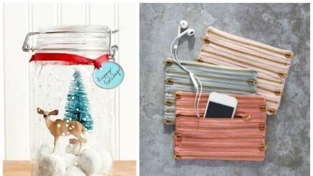 20 idee per regali di Natale fai da te