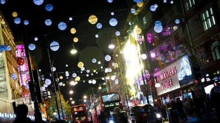 Natale a Londra: ecco gli addobbi più belli del 2016