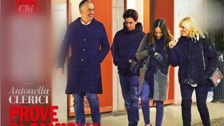 Le foto di Antonella Clerici e Vittorio Garrone