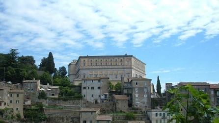 Le immagini del magnifico Palazzo Farnese a Caprarola