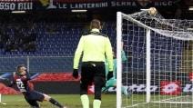 Le immagini del recupero Genoa-Fiorentina