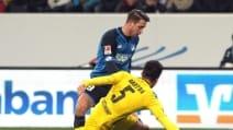Bundesliga, le immagini di Hoffenheim-Borussia 2-2