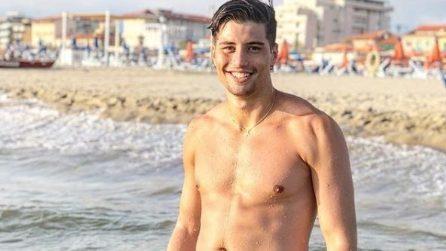 Niccolò Bettarini: a 18 anni è già un sex symbol