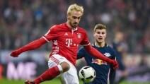 Bundesliga, le immagini di Bayern-Lipsia 3-0
