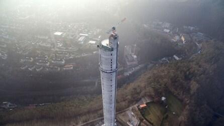 Benvenuti sulla torre di collaudo più alta del mondo