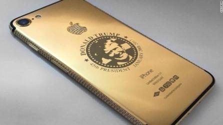 Dall'iPhone d'oro di Trump a quello di marmo: ecco gli smartphone di lusso