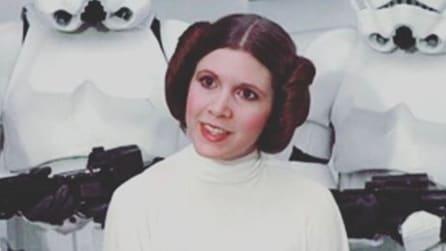 Le iconiche acconciature della Principessa Leila di Star Wars