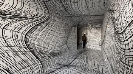 Camere che illudono: l'arte di Peter Kogler