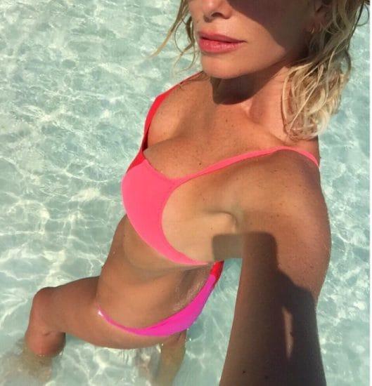 Alessia Marcuzzi alle Maldive