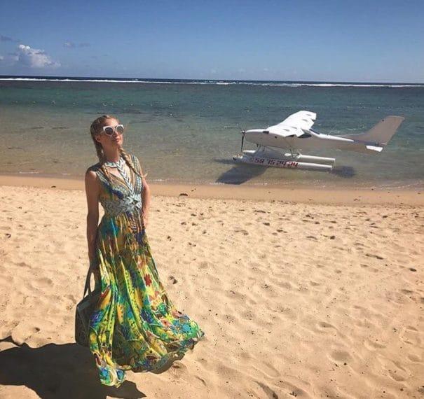 Paris Hilton alle Mauritius