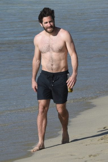 Jake Gyllenhaal a Saint Barth