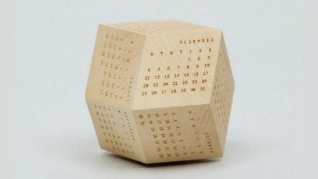 I 15 calendari di design più originali del 2017