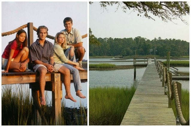 Invece di fare le riprese nel New England, dove è ambientata la serie (i personaggi di Dawson's Creek vivono nella città fittizia di Capeside, Massachusetts), i produttori hanno scelto la cittadina costiera di Wilmington, in North Carolina, per il clima temperato e la vasta gamma di scenari. Il North Carolina è uno dei pochi stati che ha montagne, pianure e spiagge sullo stesso territorio.