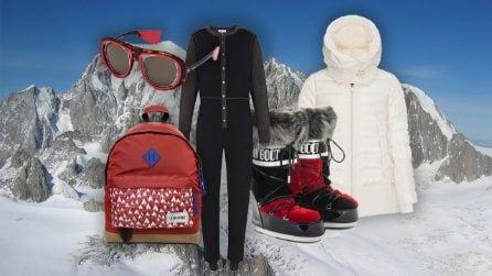 Look da montagna: abiti e accessori per la settimana bianca