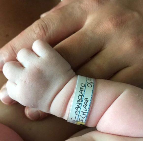 Francesca Dallapé ha partorito: è nata la piccola Ludovica