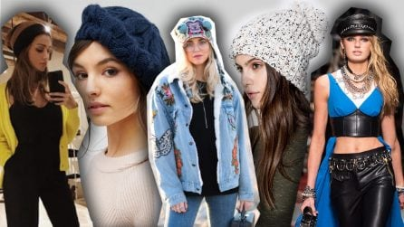 Cappelli per l'inverno: 9 modelli alla moda