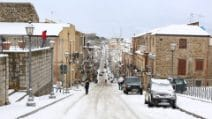 Palermo, Epifania con la neve