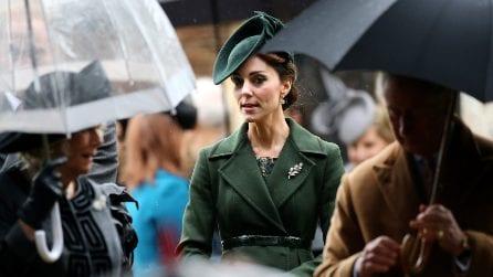 Kate Middleton e il cappotto verde riciclato